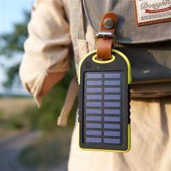 Ударостійкий, пило і водонепроникний PowerBank на сонячній батареї фото 1