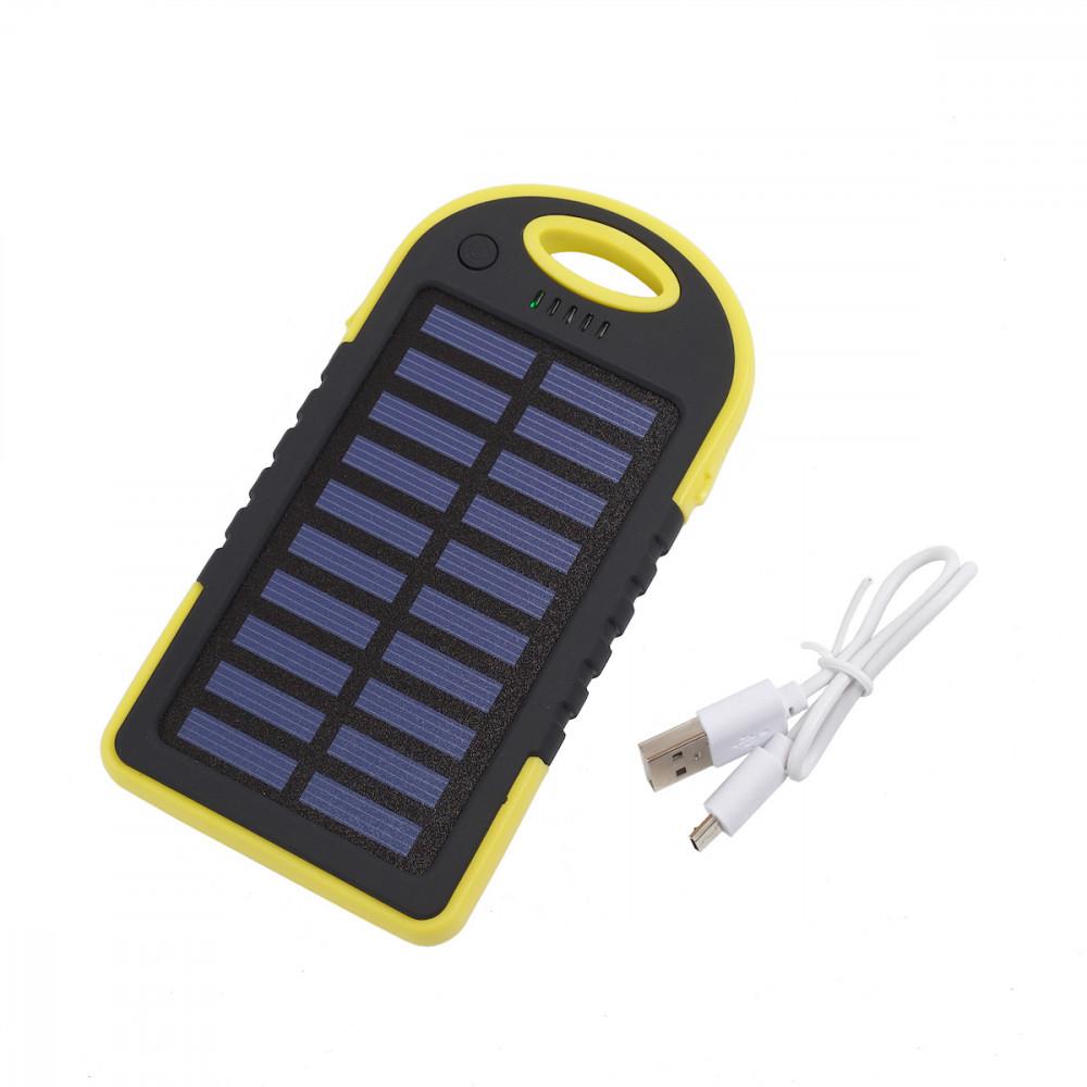 Ударостійкий, пило і водонепроникний PowerBank на сонячній батареї. Пакування: Стакан