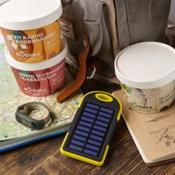 Ударостійкий, пило і водонепроникний PowerBank на сонячній батареї фото 2