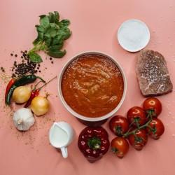 Суп гаспачо з яловичиною (яловичина 15%) фото 4