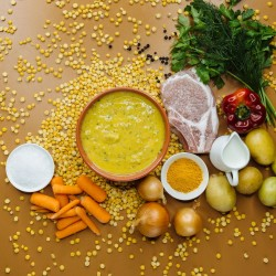 Суп гороховий зі свининою (свинина 15%) фото 4