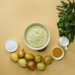 Пюре картопляне зі смаженою цибулею (цибуля 8%) фото 4