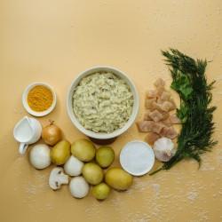 Пюре картопляне з філе курячим та грибами (філе куряче 7%) фото 4