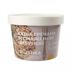 Каша гречана зі смаженою цибулею (цибуля 10%) фото 1