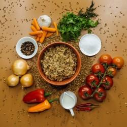 Каша гречана зі смаженою цибулею (цибуля 10%) фото 4