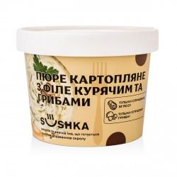 Пюре картопляне з філе курячим та грибами (філе куряче 7%) фото 1