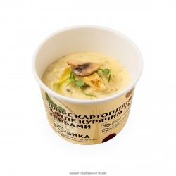 Пюре картопляне з філе курячим та грибами (філе куряче 7%) фото 6