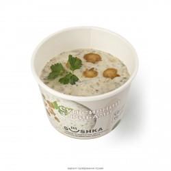 Сирний суп з печерицями. Сир сичужний (17.5%), гриби печериці (10%) фото 6