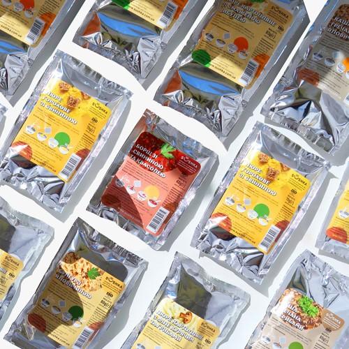 Спробуй всі страви від SUSHKA. Пакування: Стакан